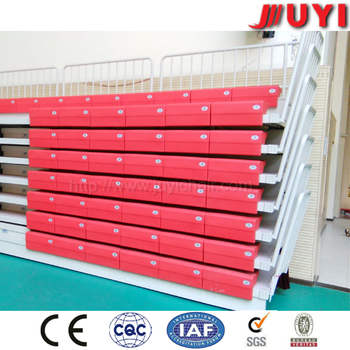 JY-750 Factory Price Stadium Plastic Bleacher Seats Folding Grandstand Seating Chair