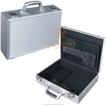 Unique design quality aluminum tool case laptop brief case hard case