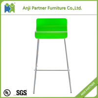 All kinds of color acrylic white bar high stool chair (Rumbia)