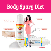 Body boom diet Heating&Cooling Sensation/full body heating spray/korea cosmetic