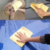 Extra Large-Absorbent Cleaning Cloth Suede Fabric
