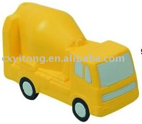 Van shaped PU toy