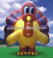 customized Turkey Bird inflatable sloth cartoon characters