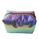 Funny Holographic Makeup Organizer Iridescent Cosmetic Bag