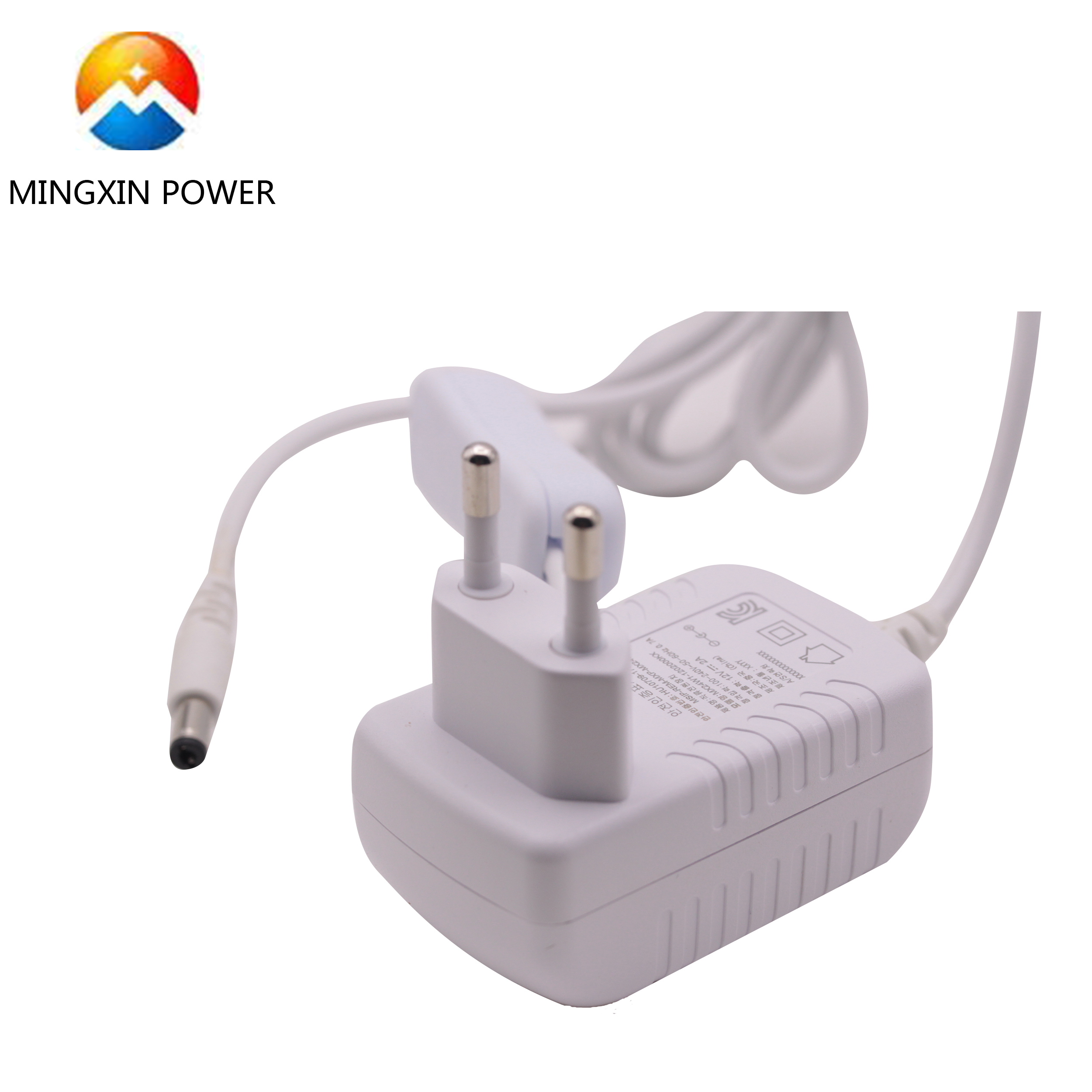 UK/US/AU/EU/KR plug 12v 2a power supply adaptor 24w 12 volt 2 amp ac dc <strong>adapter</strong> with on/off switch white color