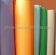 needle punched color polyester felt non-woven