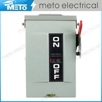 30 amp 3 phase single phase disconnect switch/electric socomec change over switch 63a/fuse disconnector switch