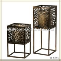 New design table standing metal candle holder