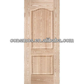 Ash veneer molded door skin buy ash molded cabinet door for Mahogany door skin
