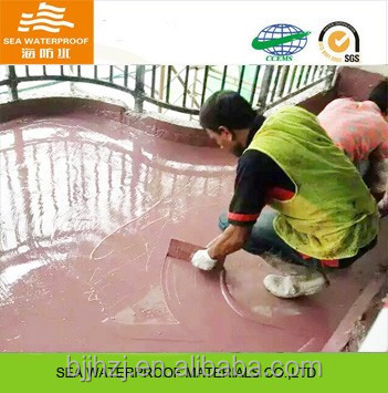 Polyurethane Liquid interior building waterproof material cheap