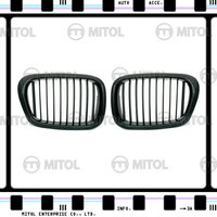 Carbon Fiber Front Grille for BMW E39 Car Grills Auto Accessories