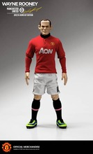 Manufacture collectible soccer player custom action figure 12 inch Wayne Rooney toys