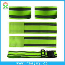 Eco friendly reflective safety elastic snap band