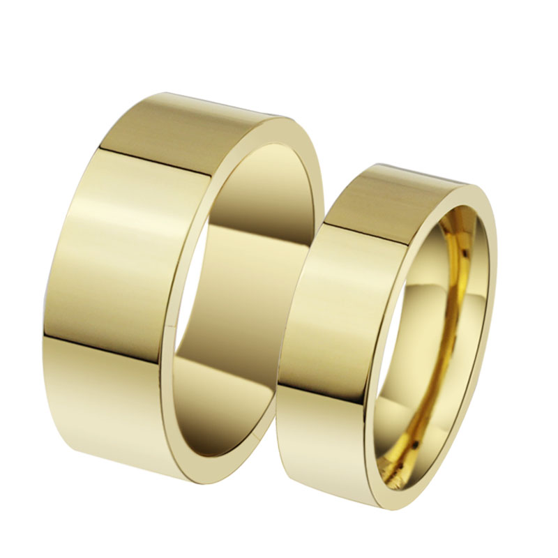 Spot supply, 18 k gold plated couples jewelry, couple ring YSS638