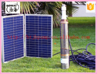 deep well dc brushless solar water pump