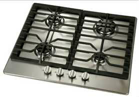 Hot sell 4 burners Built-in Tempered Glass Gas hob / stove protector