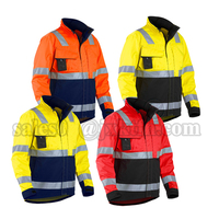 Mens Coverall Workwear Jacket, Coal Mine Workwear Pants, Safety Reflective Jacket