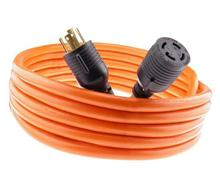 J60050 Nema L14-30 Generator Power Cord 4 Wire 10 Gauge 125/250v 30 Amp 25 Feet