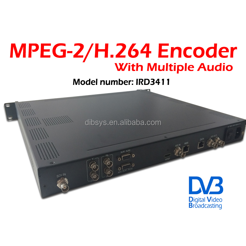 2015 newest MPEG-2 and MPEG-4 AVC broadcasting video encoder