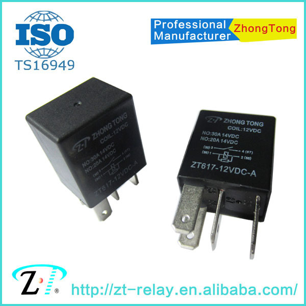 ZT617 12v 24v 4pin 5pin auto relay general relay toyota relay