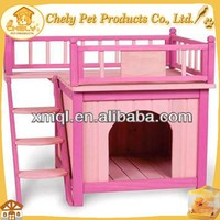 Luxury Double-decker Indoor Dog House Wooden Dog House Pet Cages,Carriers & Houses