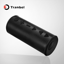 Bass passive radiator Support TF card portable waterproof dj sound speaker