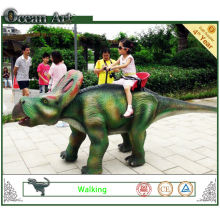 Amusement Park Walking Dinosaur for Children in Hot Sale