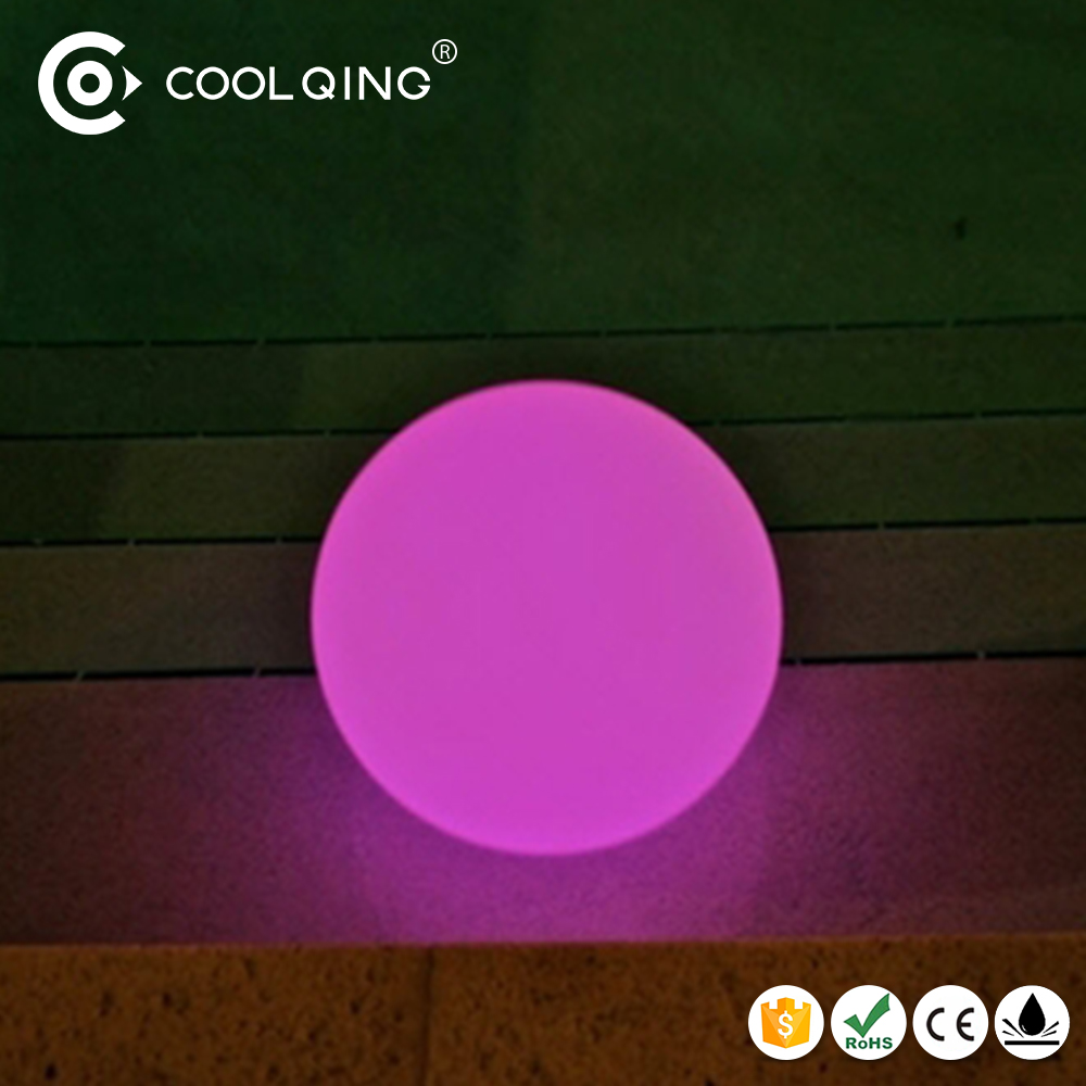 Hot sell wedding decoration LED lights RGB ball Cool Qing 16 color changing balls