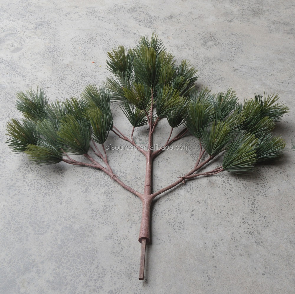 Christmas Plastic Tree Branches Artificial Pine Tree Branch Decorations