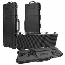 Mil-Spec Field Locker Tactical Long Gun Case with Wheels, Black, Large