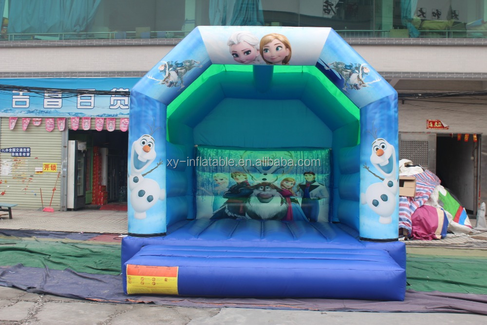 kids <strong>inflatable</strong> frozen bouncy castle frozen jumping castle hire