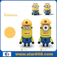 Cartoon character Fireproof usb flash drive 16GB Despicable Me minions usb