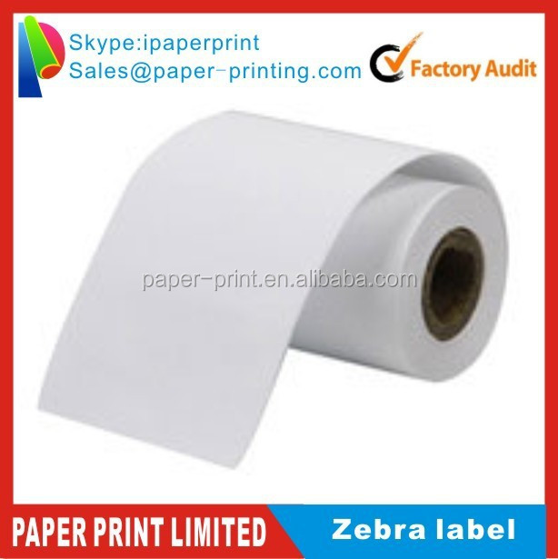 Zebra blank compatible label for zebra gk420t