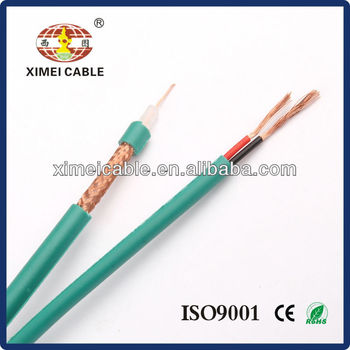 Hot Sell CCTV Cable RG59, RG59+2Power Siamese Cable for CCTV camera