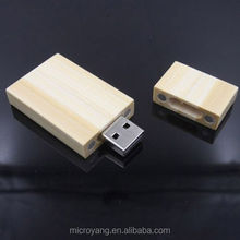 New Rectangular Wood Mini Model USB 2.0 8GB Flash Pen Drives Memory Stick Drive