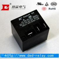 30A 12V relay 5pin or 6 pin electrical PCB Relay DEU1 T91