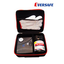 Hand tools automobile tyre repair kit with compressor