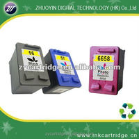 hot ink cartridge 58 for HP 450/5550/5551 Color inkjet printers