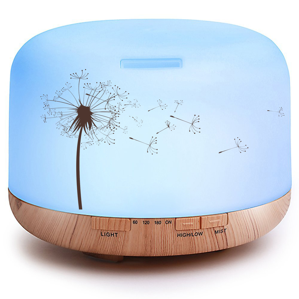 Wholesale 500ml home decoration aromatherapy essential oil diffuser Aroma Essential Oil Diffusier
