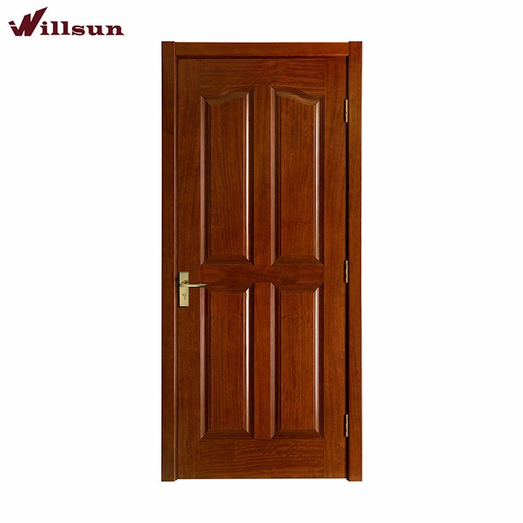 Antique Intricately Wooden Door With Metal Fittings Frame Teakwood Door Design