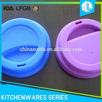 China made cheap colorful universal silicone cup sleeve coffee