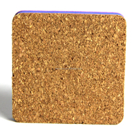 square shape decorative cork pin board / eva board