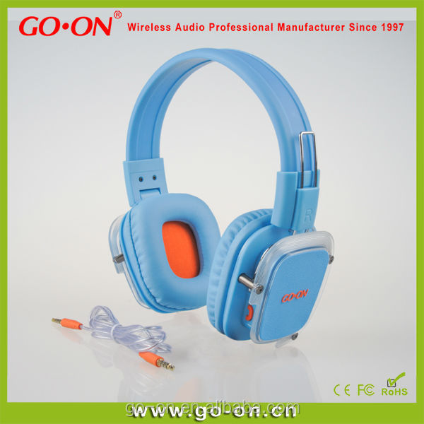 Bluetooth headphone with mic and six colors option