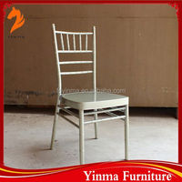 YINMA Hot Sale factory price chrome legs dining chair