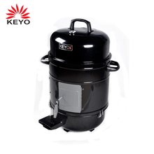 KEYO Three layers smokeless home electric vertical bbq grill cold smoker with visual window