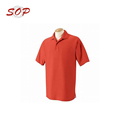 65% Polyester 35% Cotton Custom Printing Polo T Shirt