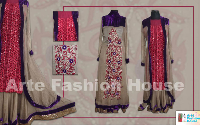 latest 2013 party wear lahanga