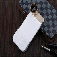 New design 180 Degree Fish Eye Phone Camera Lens Back Cover Case For iphone 6