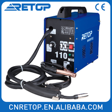 Hot Sells Gasless Flux-Cored Wire Welder MIG-110AC Aluminium Welding Machine