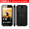 4.7 Inch 3G Rugged Phone Blackview BV4000 IP68 Waterproof Mobile Phone